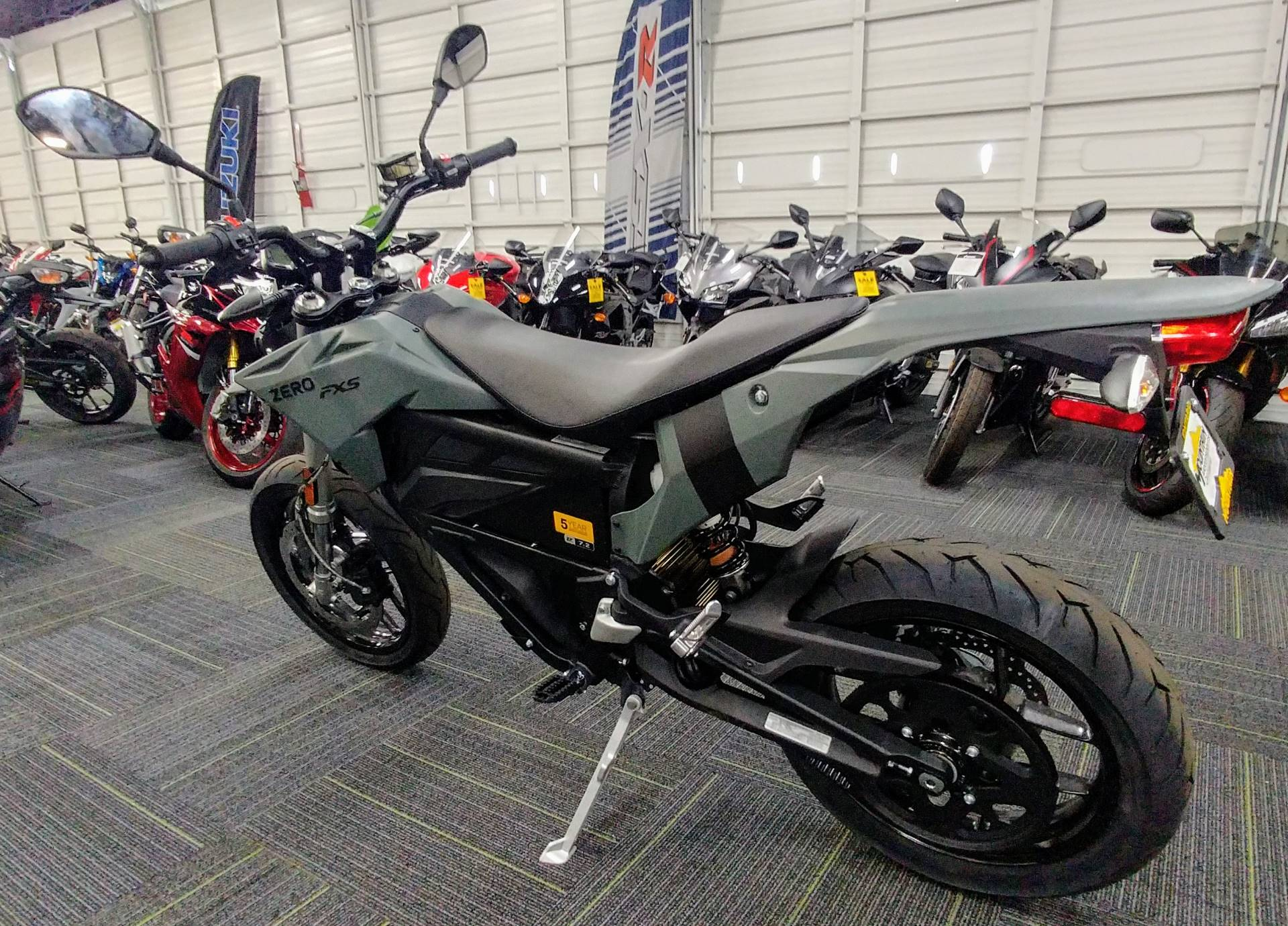 2019 Zero Motorcycles FXS7.2 in Ontario, California - Photo 9