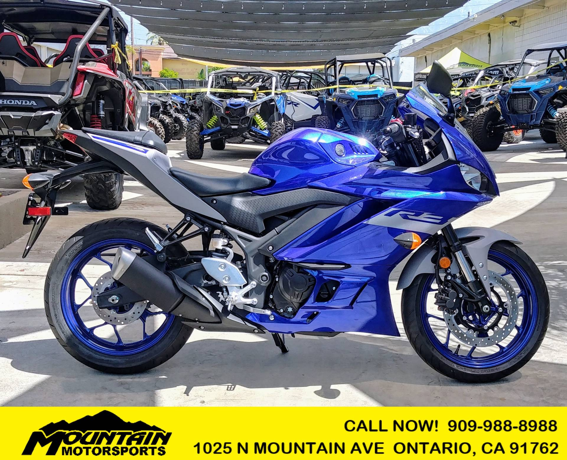 2020 Yamaha YZF-R3 in Ontario, California - Photo 1