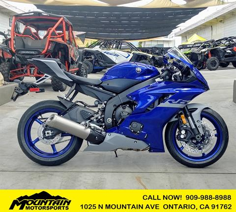 2020 Yamaha YZF-R6 in Ontario, California - Photo 1