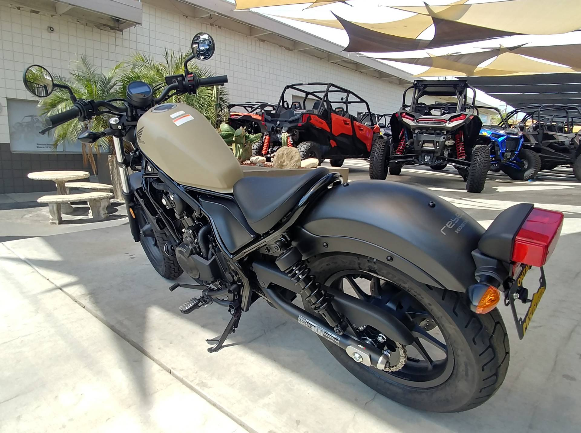 2019 Honda Rebel 500 ABS in Ontario, California - Photo 5