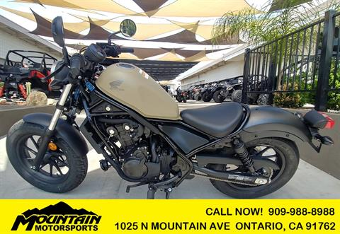 2019 Honda Rebel 500 ABS in Ontario, California - Photo 1