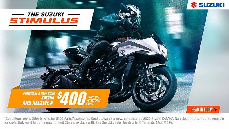 2020 Suzuki Katana in Ontario, California - Photo 8