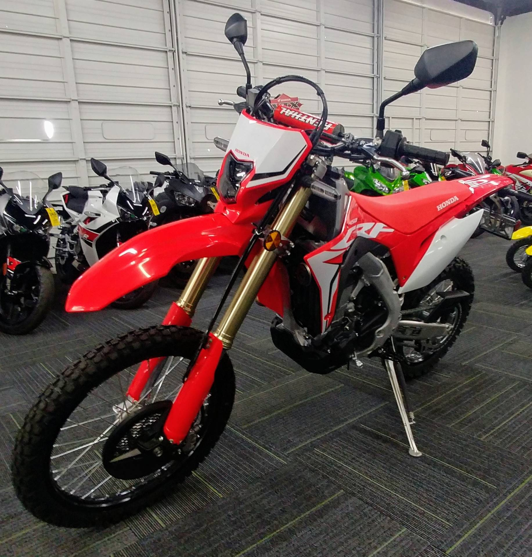 2019 Honda CRF450L in Ontario, California - Photo 4