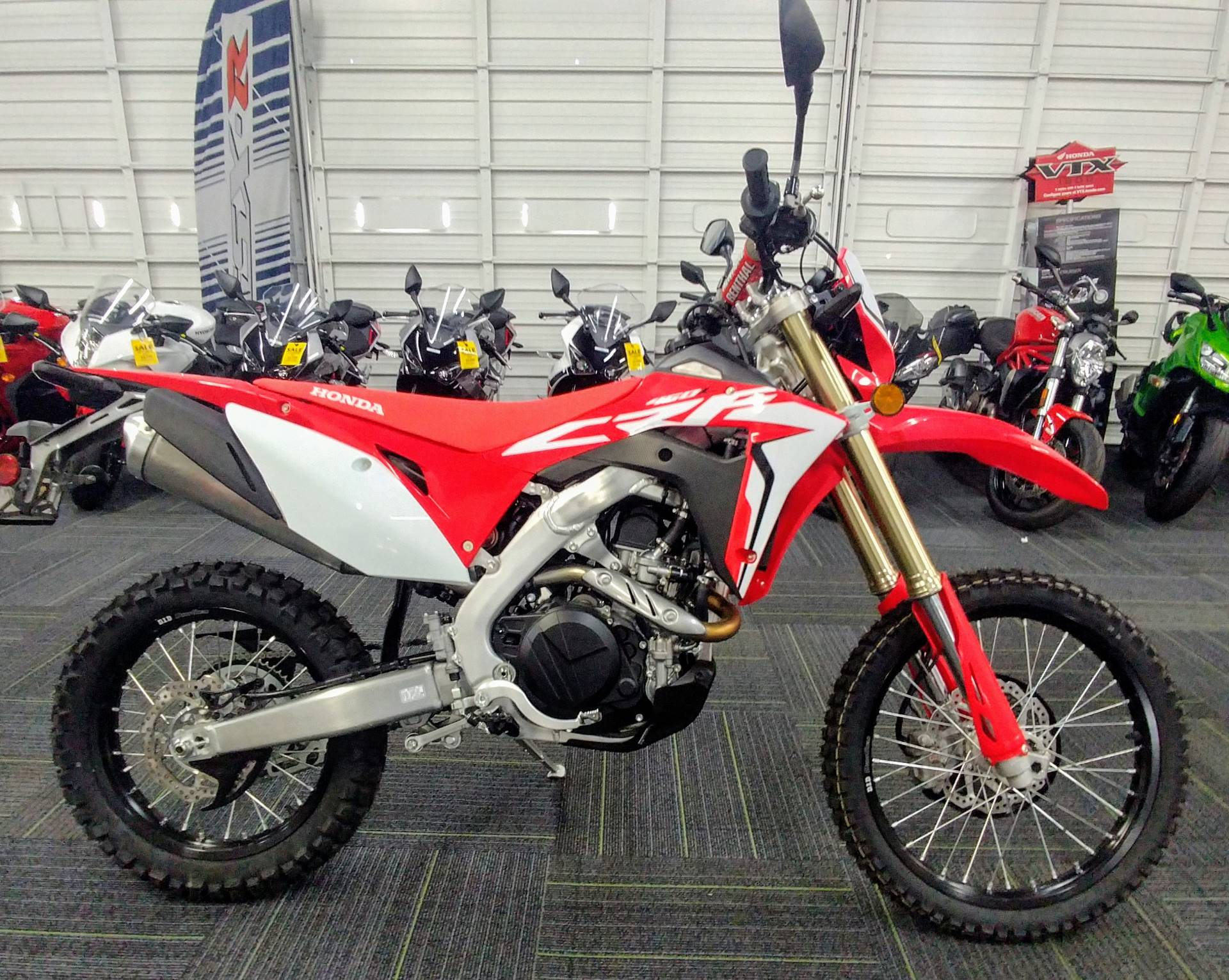 New 2019 Honda Crf450l Motorcycles In Ontario Ca Ho18233 Red