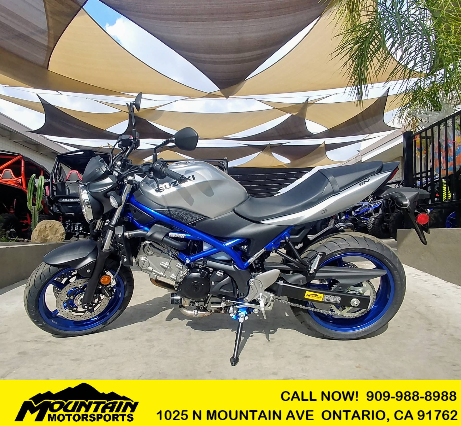 2020 Suzuki SV650 in Ontario, California - Photo 1