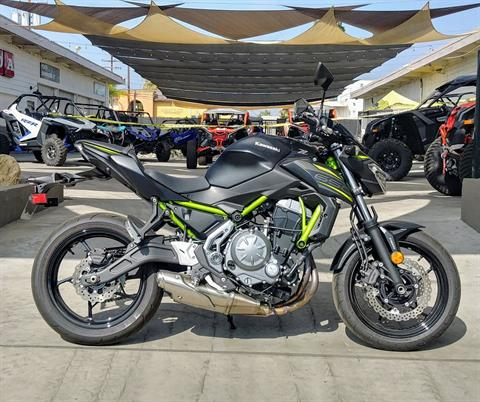 2019 Kawasaki Z650 ABS in Ontario, California - Photo 5