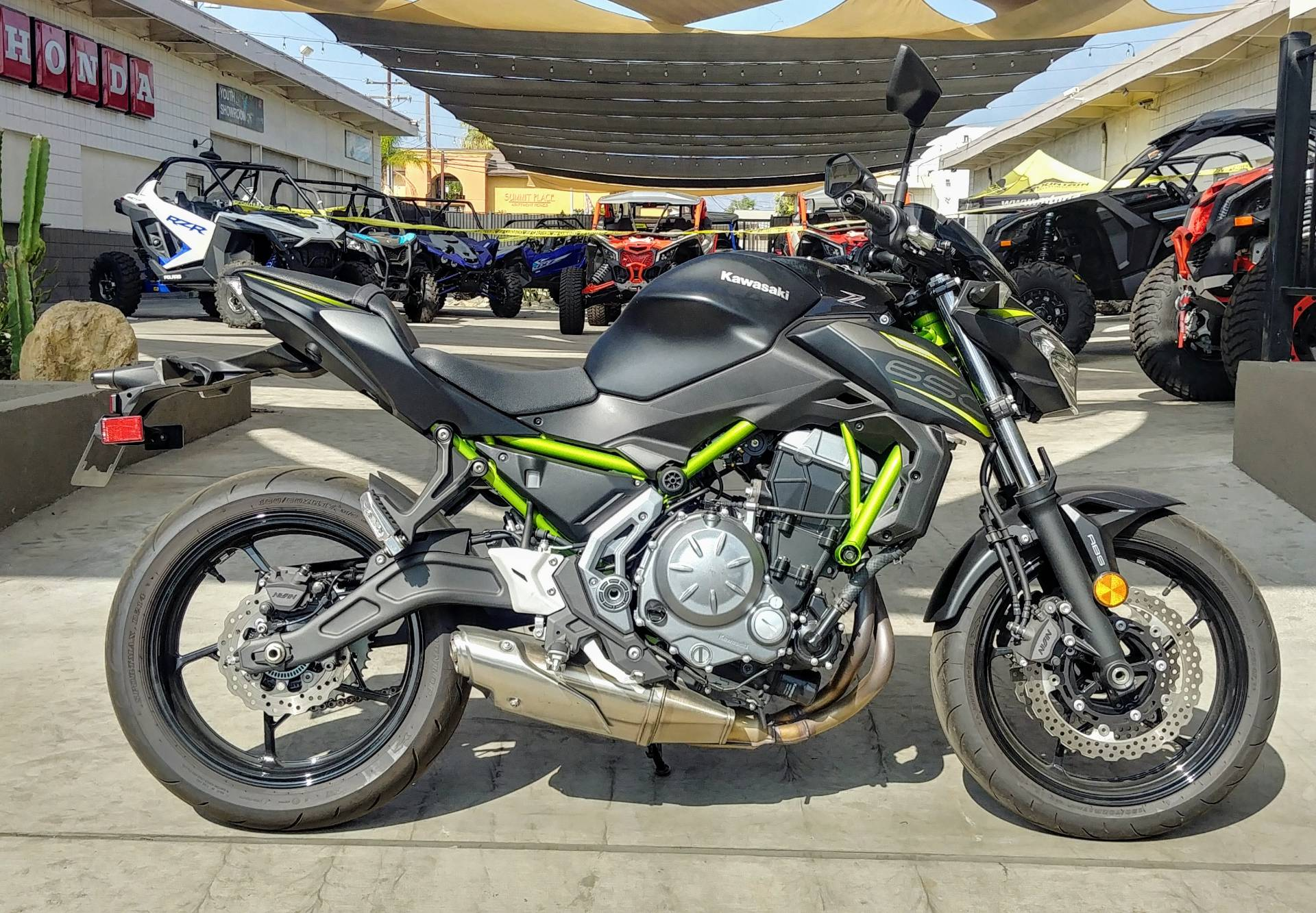 2019 Kawasaki Z650 ABS in Ontario, California - Photo 6