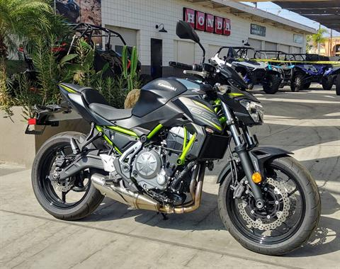 2019 Kawasaki Z650 ABS in Ontario, California - Photo 7
