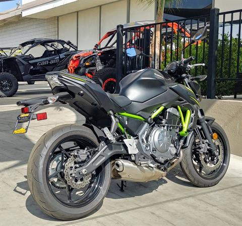 2019 Kawasaki Z650 ABS in Ontario, California - Photo 8