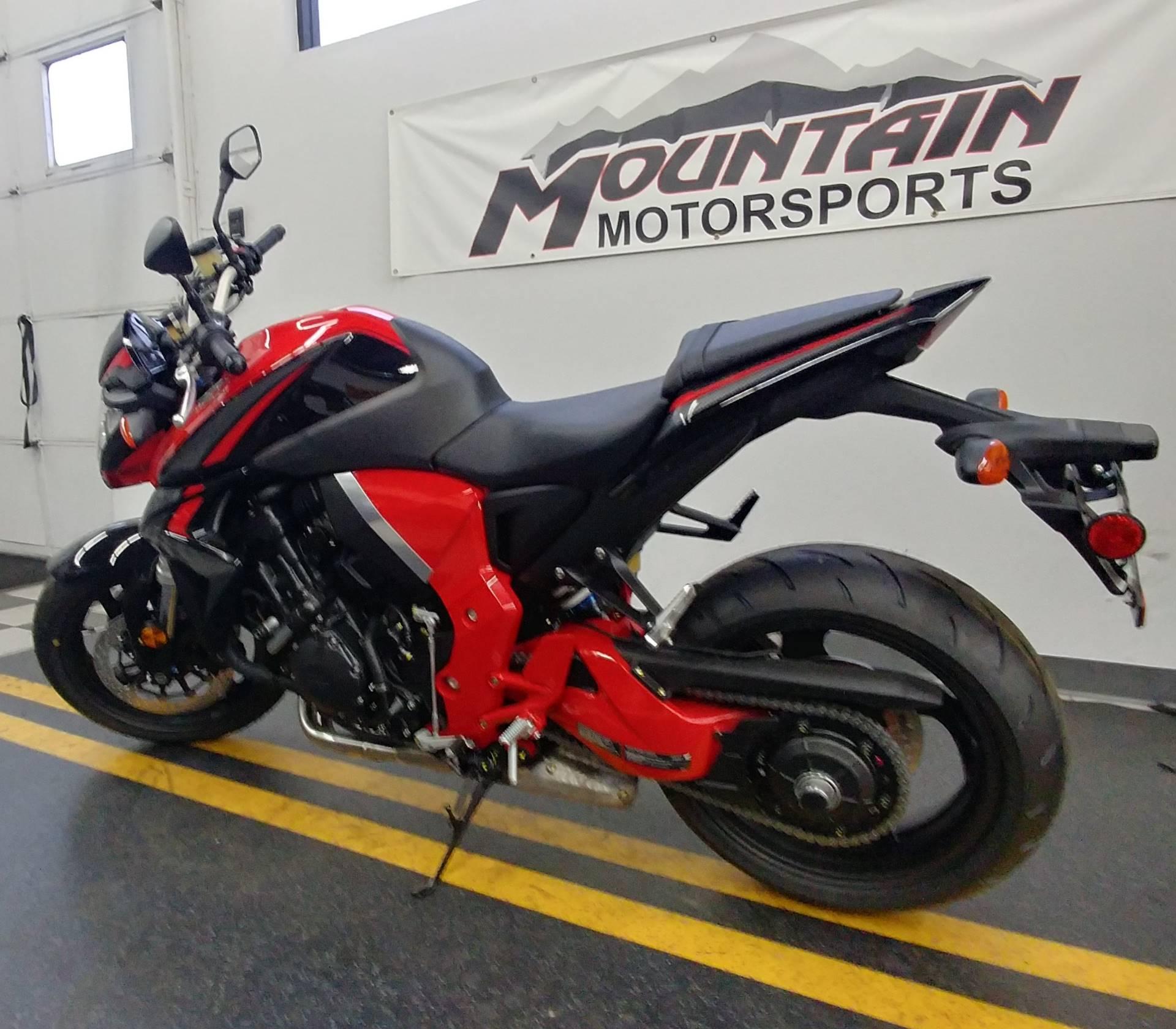 New 2016 Honda Cb1000r Motorcycles In Ontario Ca Ho18267 Black Red