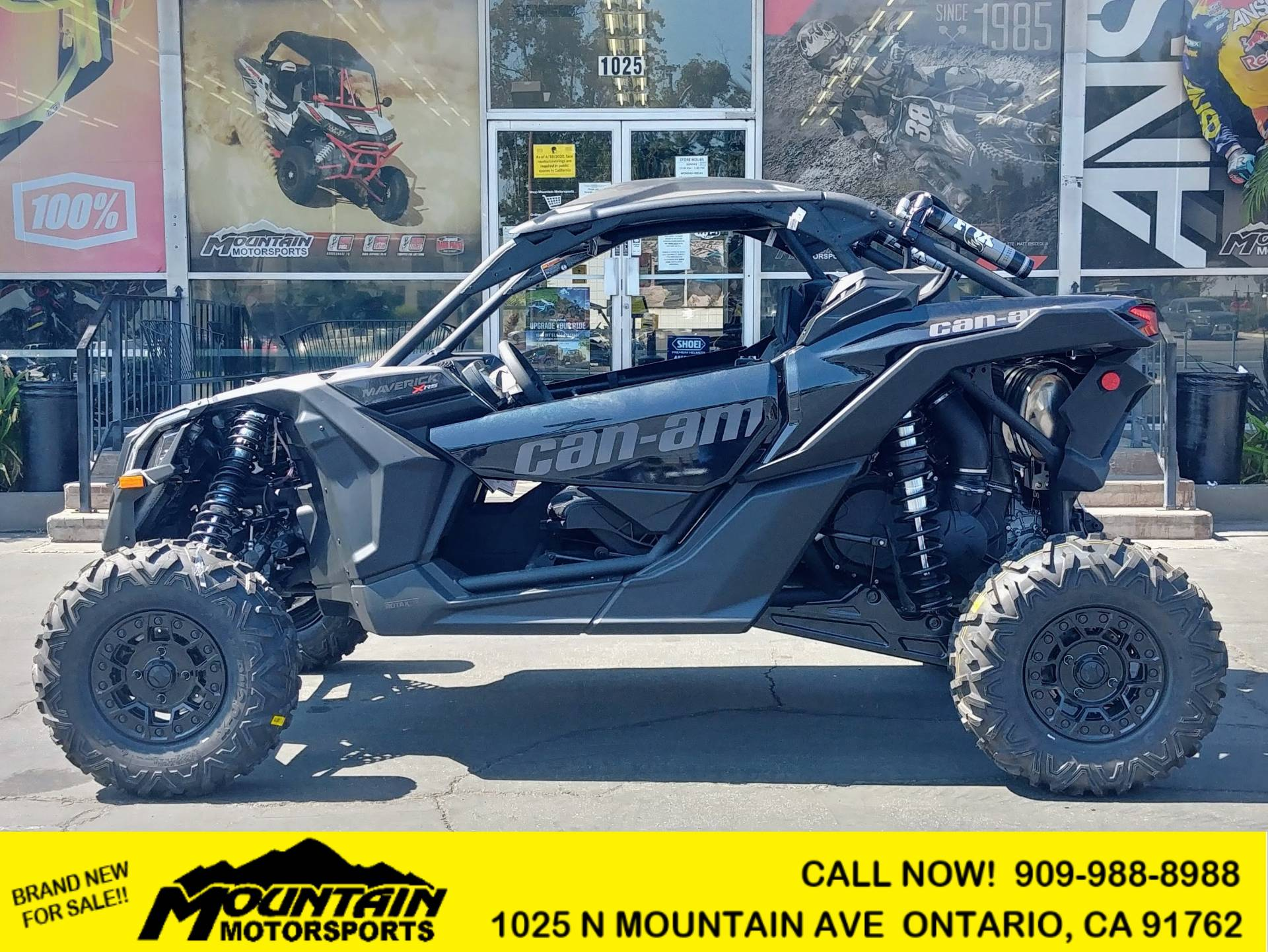 2021 Can-Am Maverick X3 X RS Turbo RR in Ontario, California - Photo 1