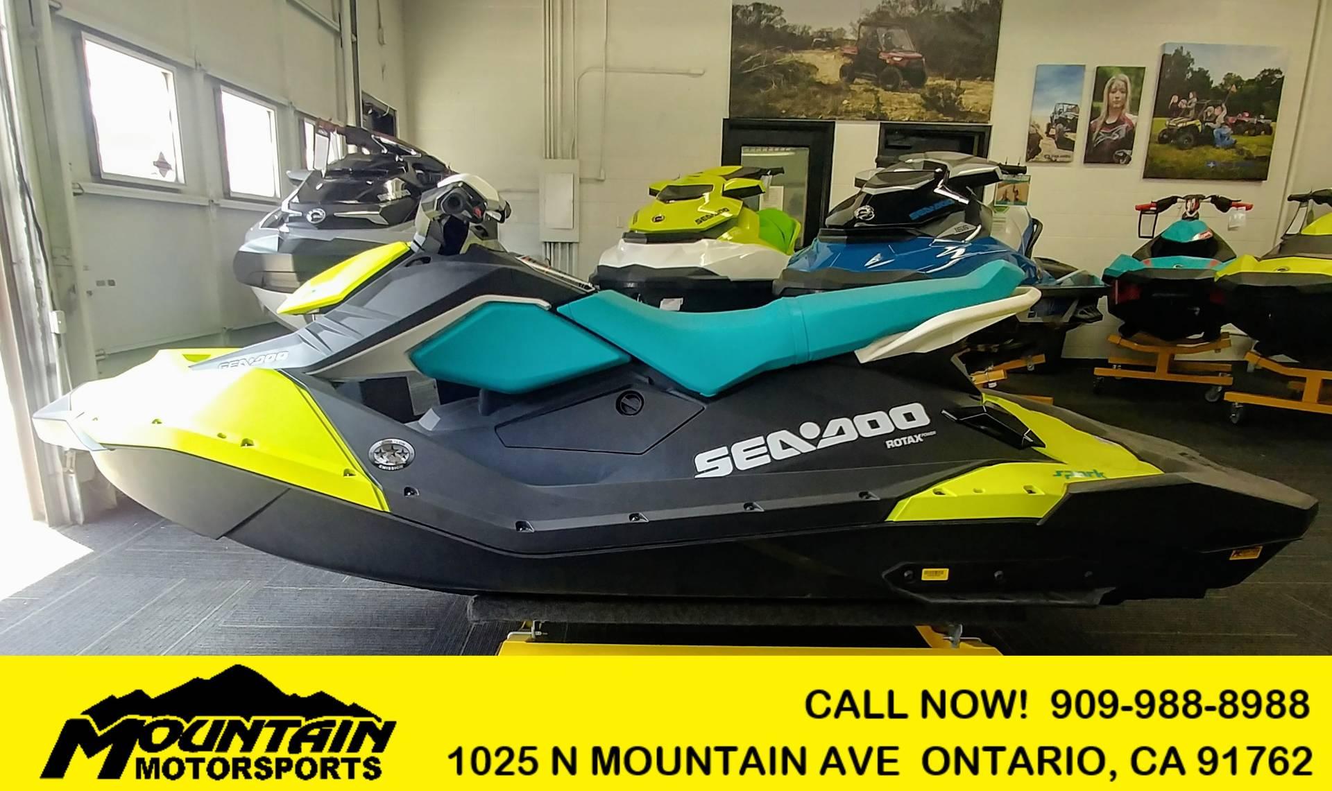 2018 Sea-Doo SPARK 3up 900 H.O. ACE for sale 2231