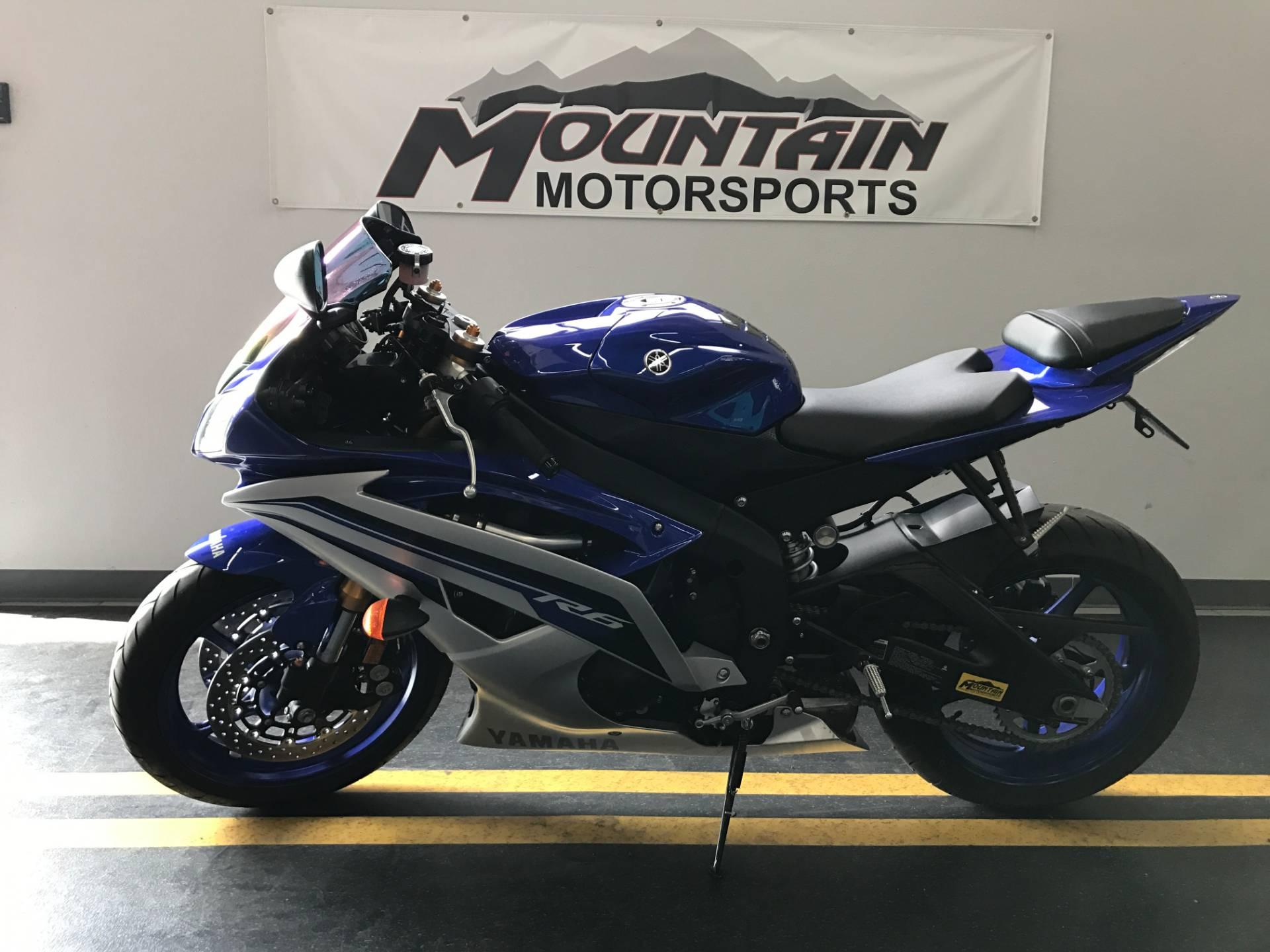 2016 Yamaha YZF-R6 4