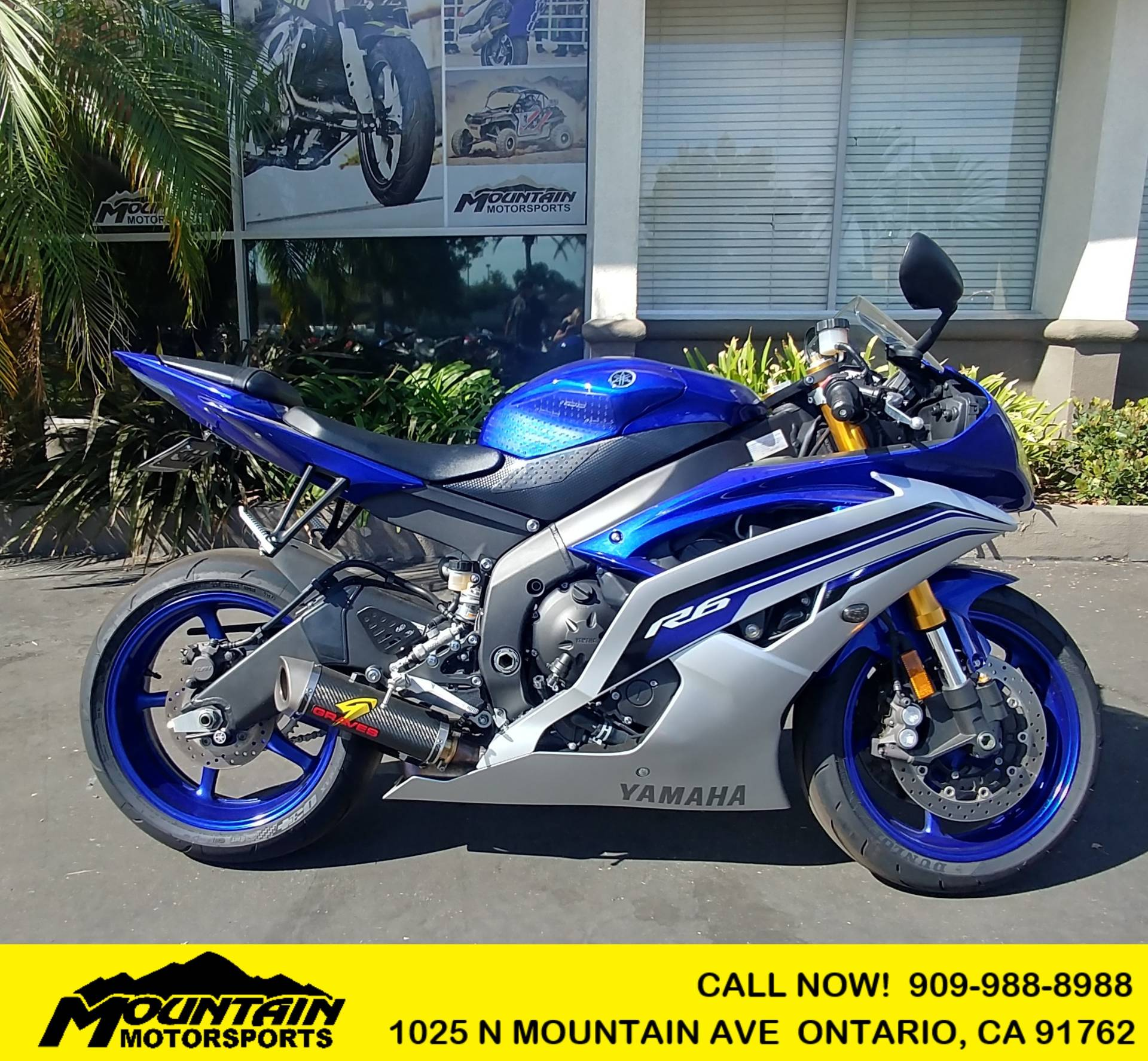 2016 Yamaha YZF-R6 for sale 194760