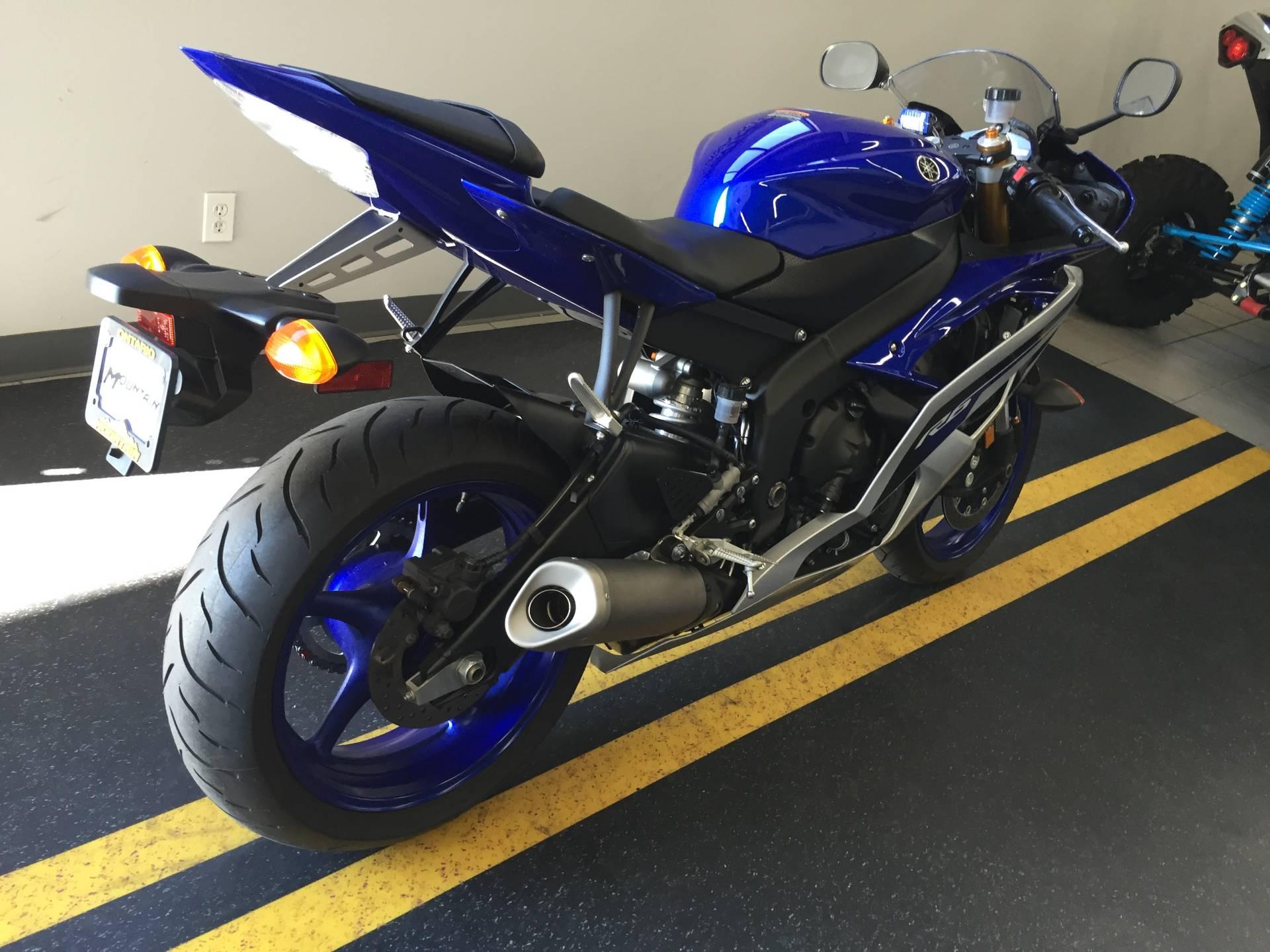 2016 Yamaha YZF-R6 2