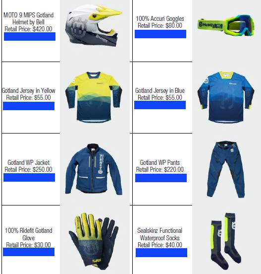 ASK ABOUT HUSQVARNA'S FREE APPAREL PROMO WITH BIKE PURCHASE!!! - Photo 6