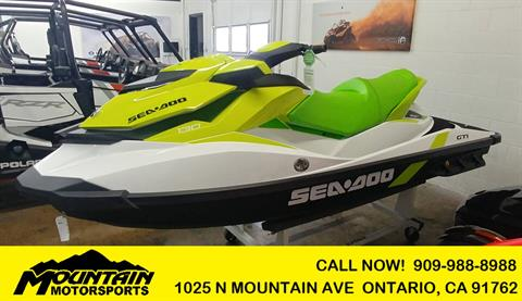 2019 Sea-Doo GTI 130 iBR in Ontario, California - Photo 1