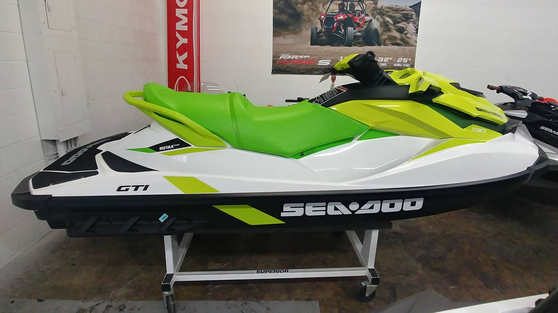2019 Sea-Doo GTI 130 iBR in Ontario, California - Photo 2