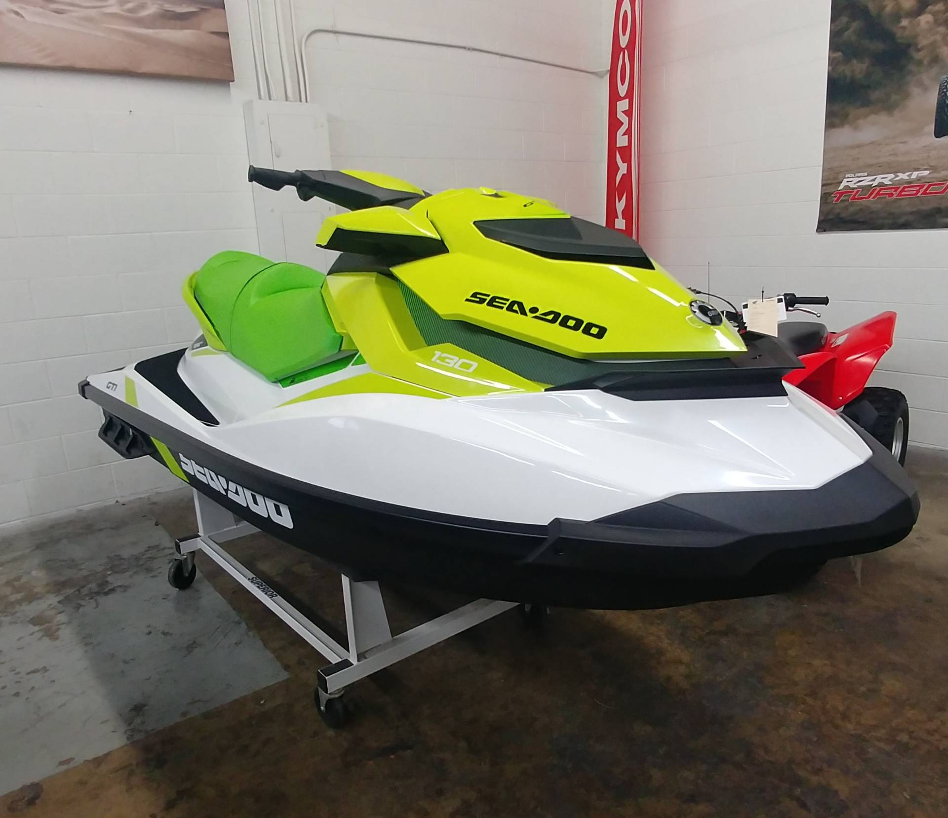 2019 Sea-Doo GTI 130 iBR in Ontario, California - Photo 4