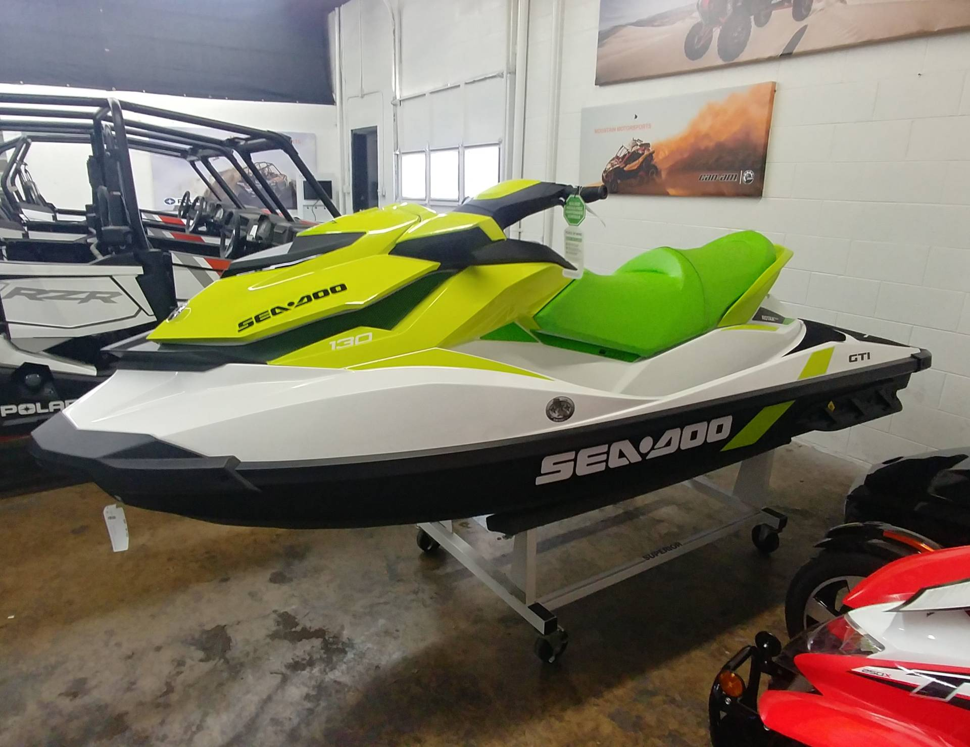 2019 Sea-Doo GTI 130 iBR in Ontario, California - Photo 5