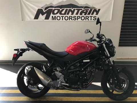 2017 Suzuki SV650 in Ontario, California - Photo 3