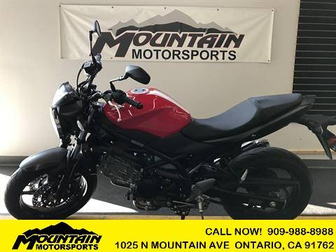 2017 Suzuki SV650 in Ontario, California - Photo 1