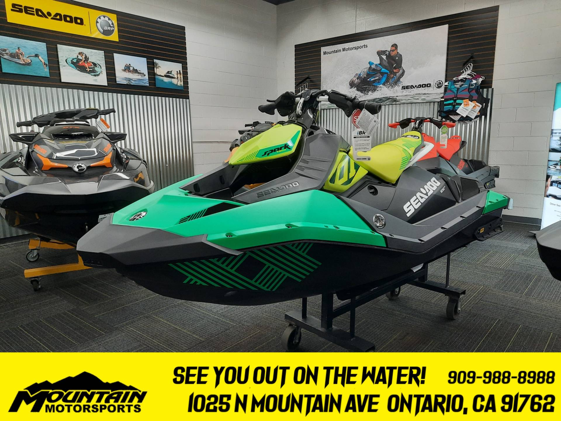2021 Sea-Doo Spark Trixx 2up iBR in Ontario, California - Photo 1