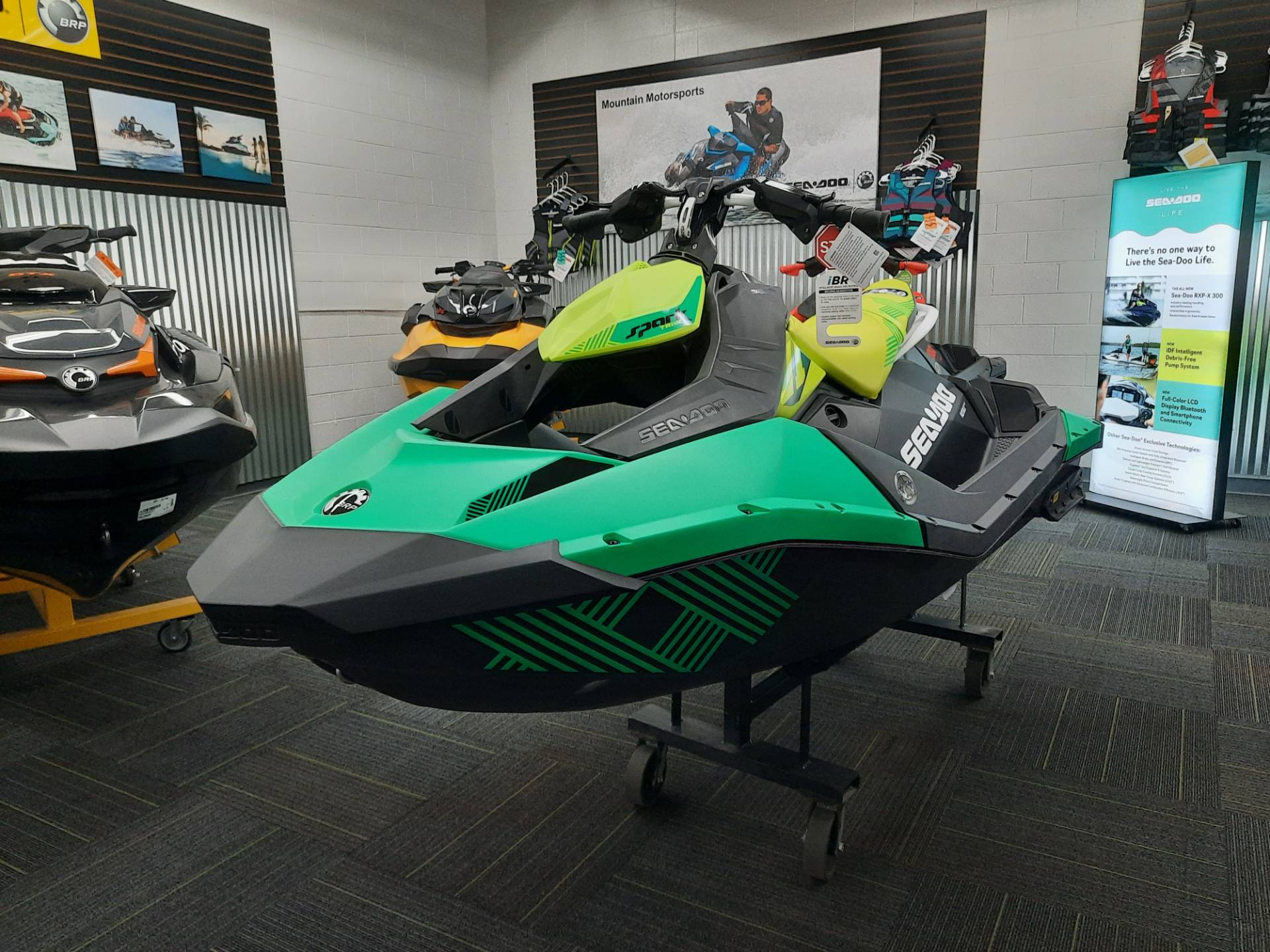 2021 Sea-Doo Spark Trixx 2up iBR in Ontario, California - Photo 2