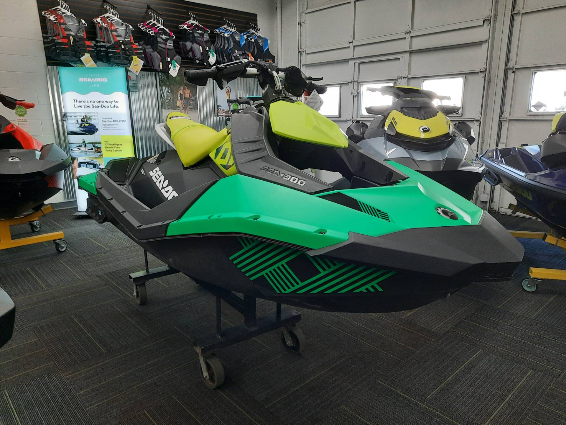 2021 Sea-Doo Spark Trixx 2up iBR in Ontario, California - Photo 3