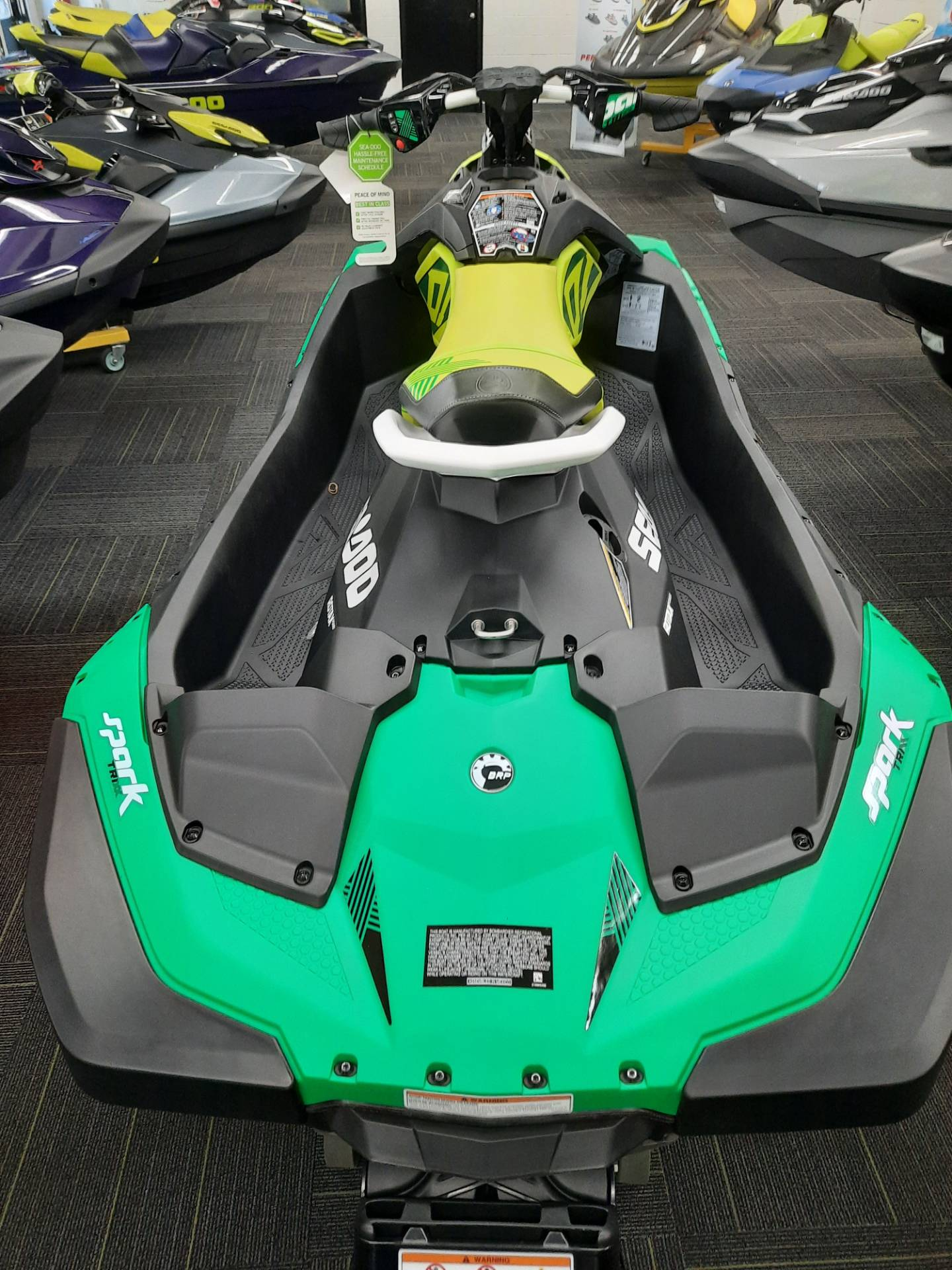 2021 Sea-Doo Spark Trixx 2up iBR in Ontario, California - Photo 5