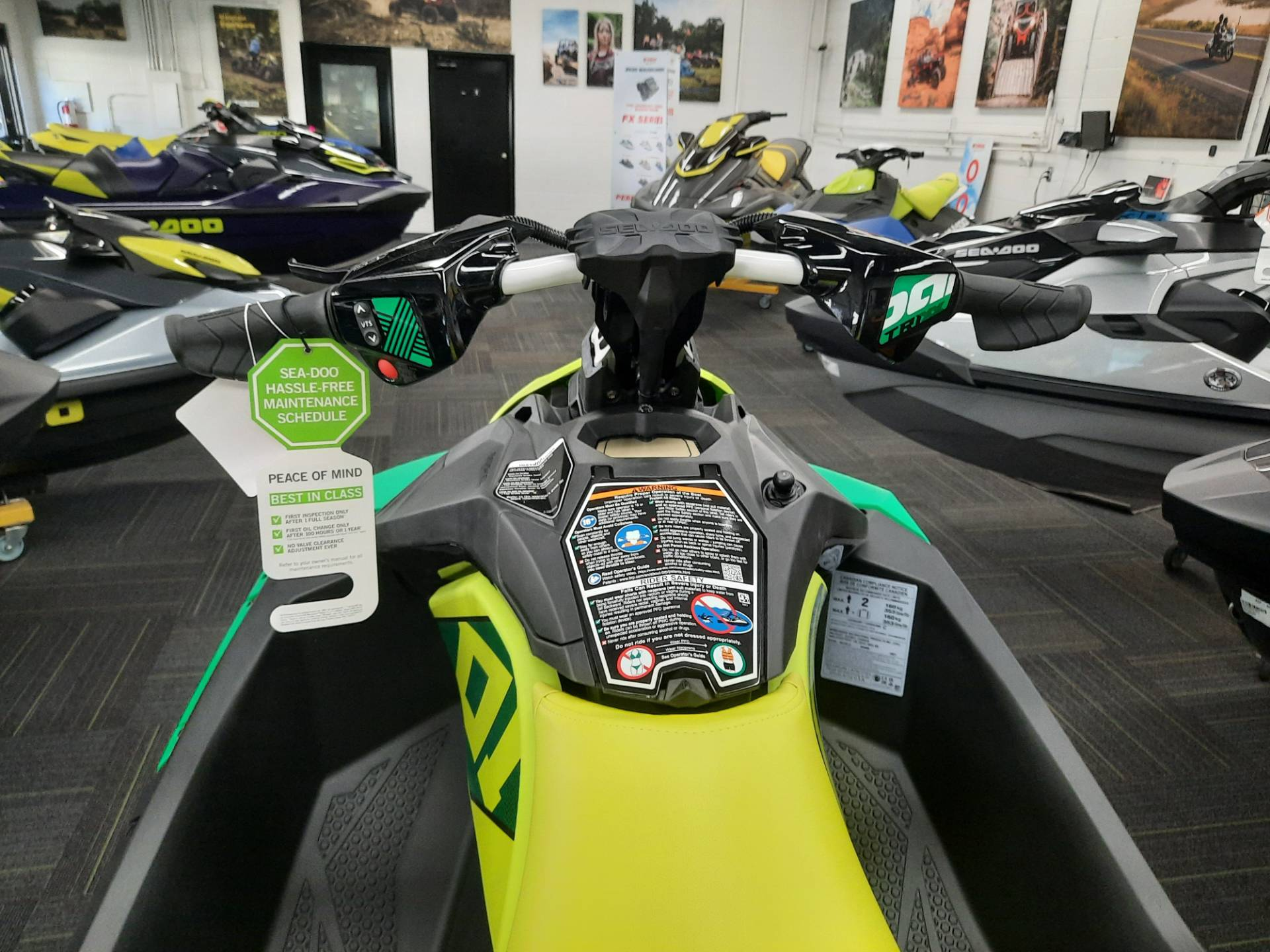 2021 Sea-Doo Spark Trixx 2up iBR in Ontario, California - Photo 9