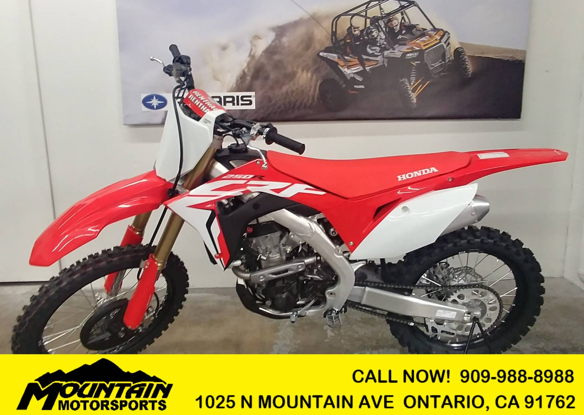 2019 Honda CRF250R in Ontario, California - Photo 1