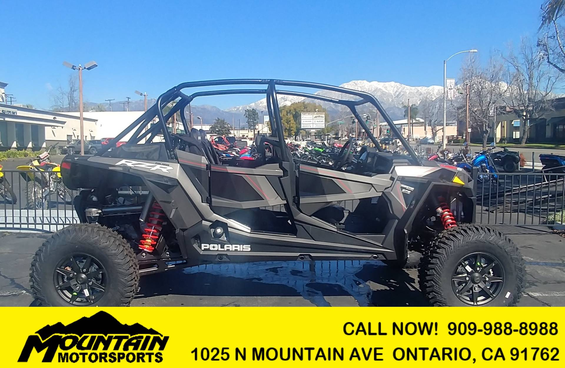 2019 Polaris RZR XP 4 Turbo S Velocity in Ontario, California - Photo 1