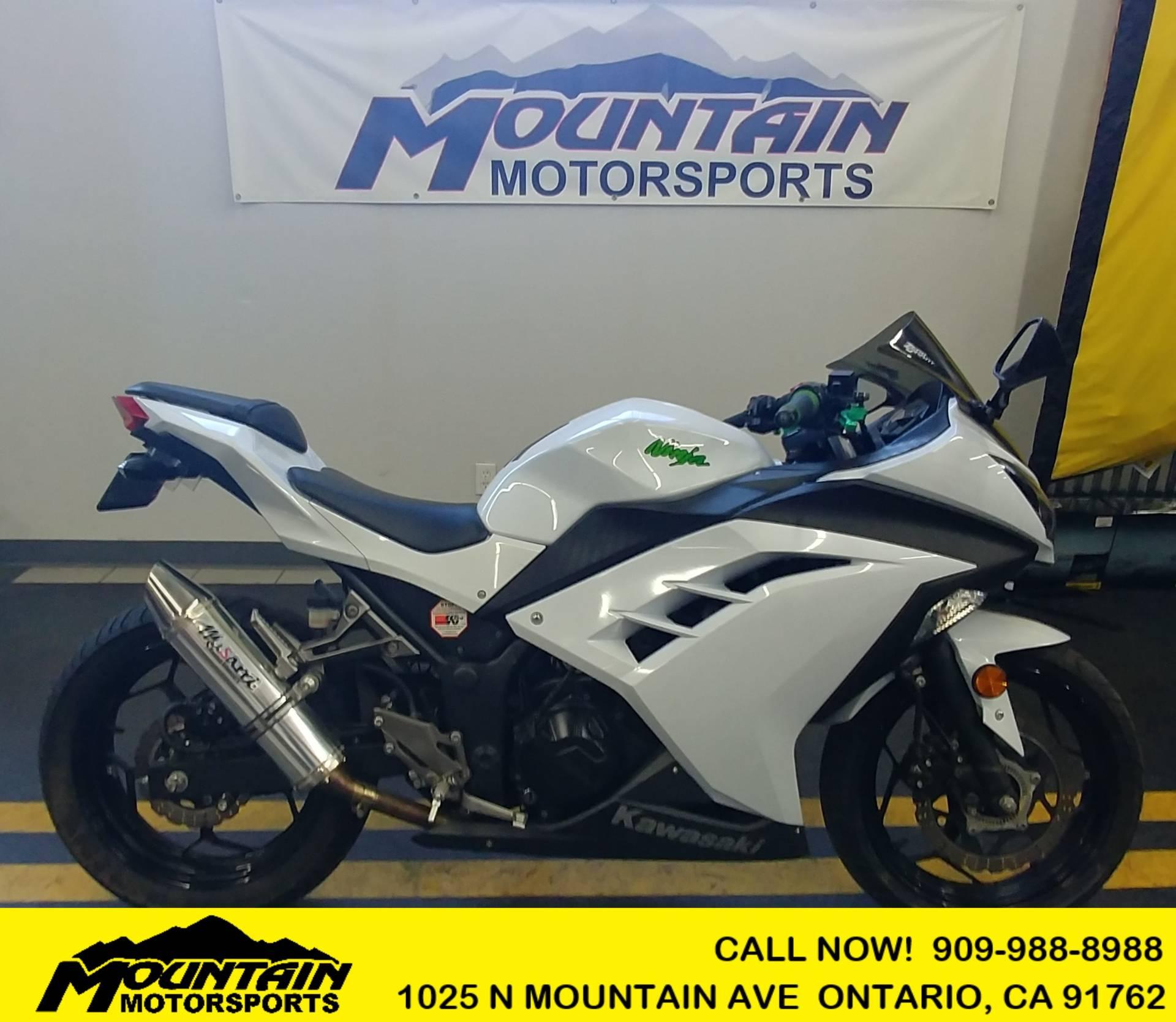 Used 2015 Kawasaki Ninja 300 Abs Motorcycles In Ontario Ca