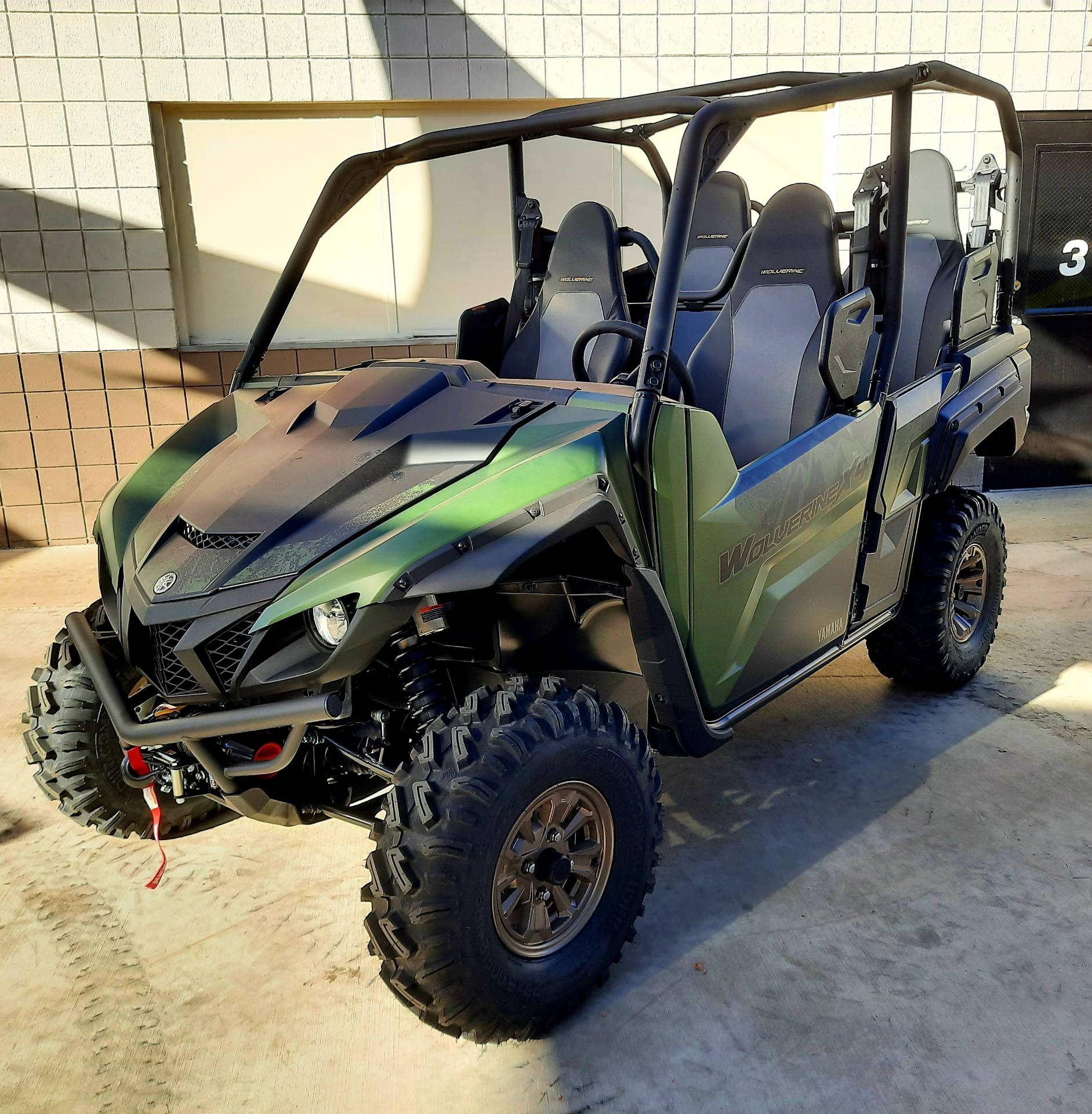 2021 Yamaha Wolverine X4 XT-R 850 in Ontario, California - Photo 9