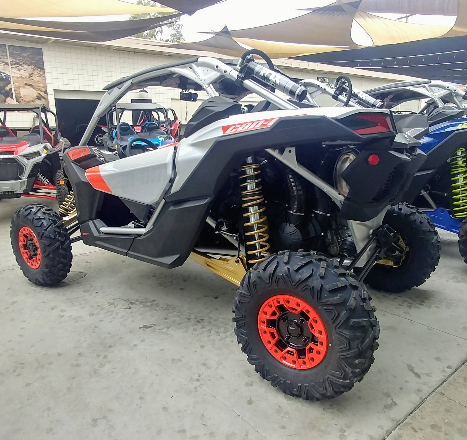 2020 Can-Am Maverick X3 X RS Turbo RR in Ontario, California - Photo 6