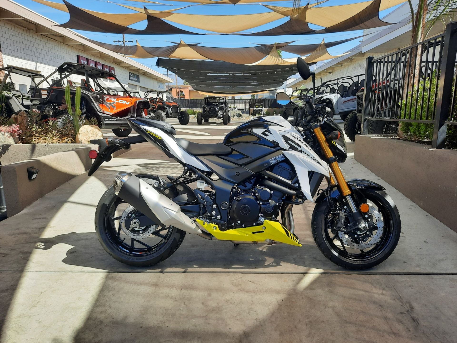 2021 Suzuki GSX-S750Z ABS in Ontario, California - Photo 5
