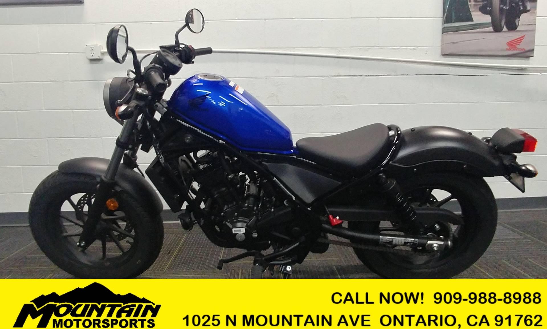 2018 Honda Rebel 300 for sale 41599