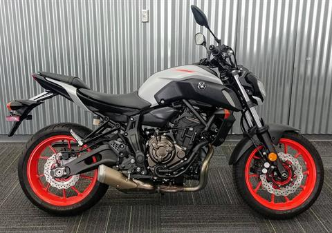 2020 Yamaha MT-07 in Ontario, California - Photo 3