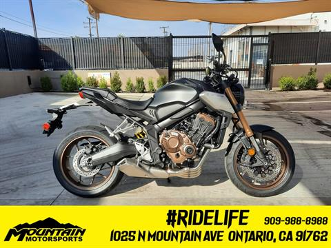 2021 Honda CB650R ABS in Ontario, California - Photo 1