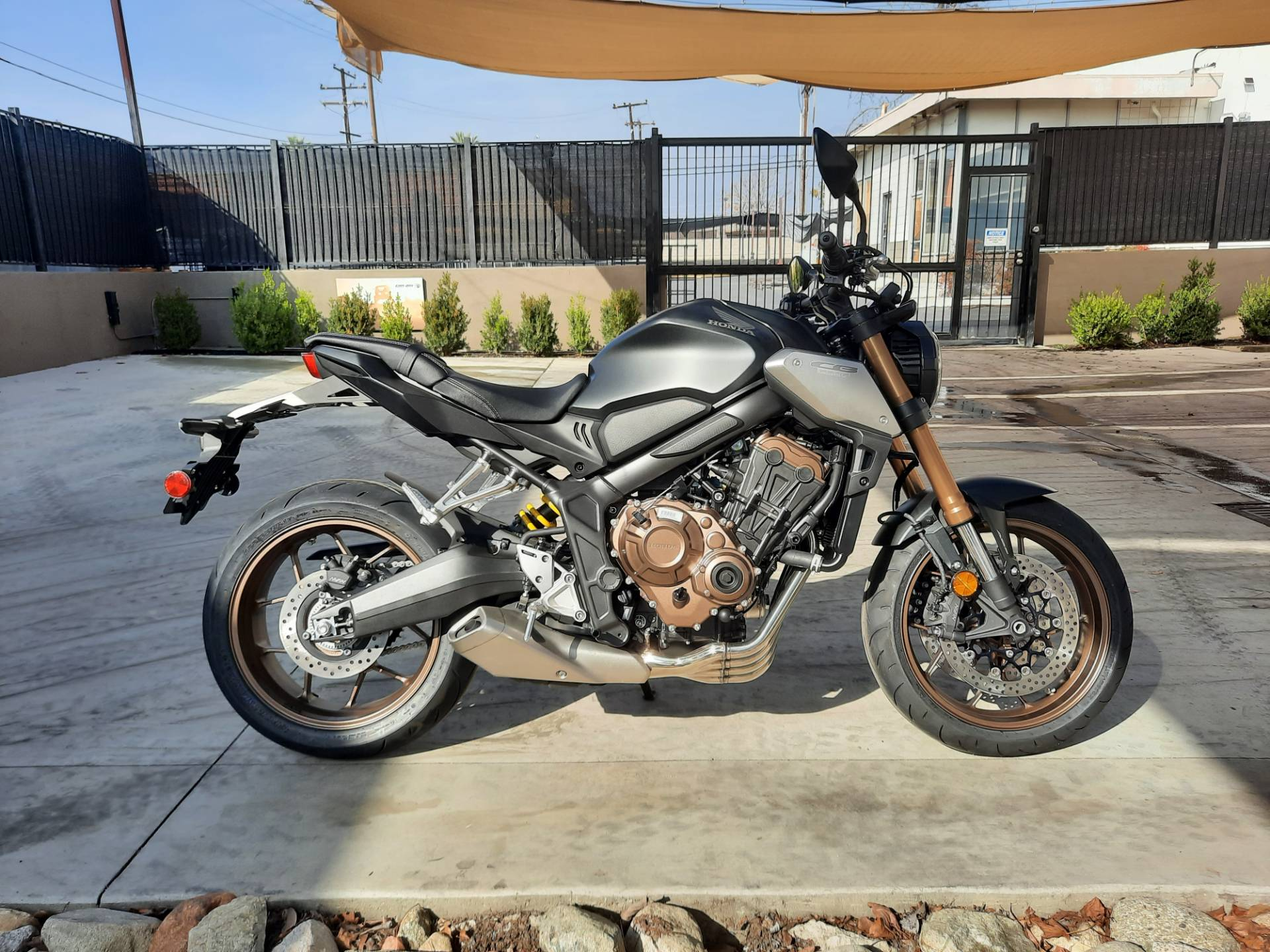 2021 Honda CB650R ABS in Ontario, California - Photo 2