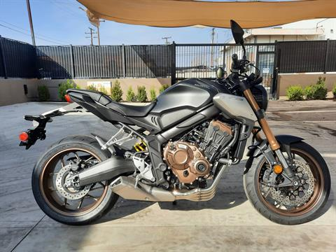 2021 Honda CB650R ABS in Ontario, California - Photo 3