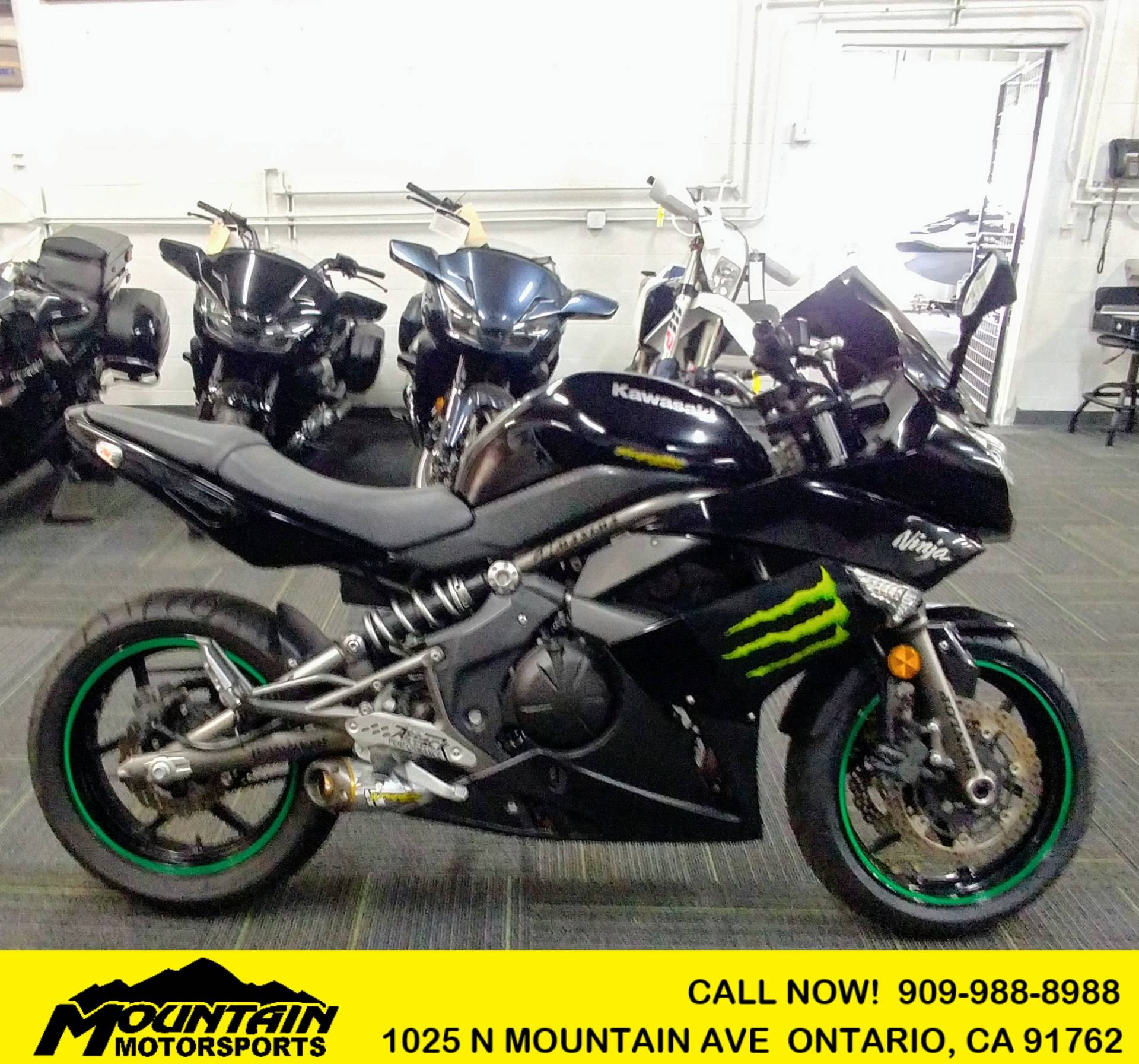 2009 Kawasaki Ninja® 650R in Ontario, California - Photo 1
