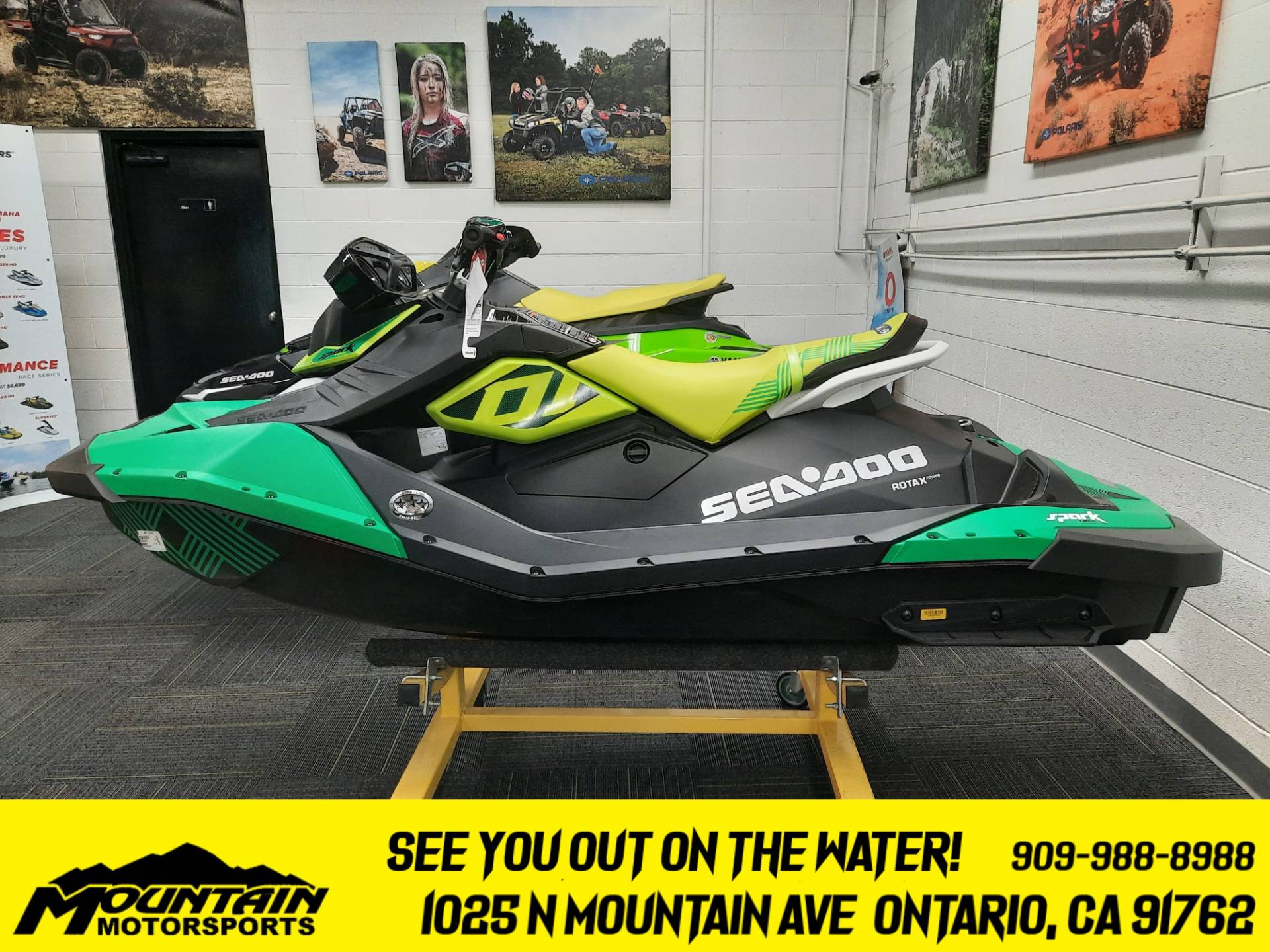 2021 Sea-Doo Spark Trixx 2up iBR + Sound System in Ontario, California - Photo 1