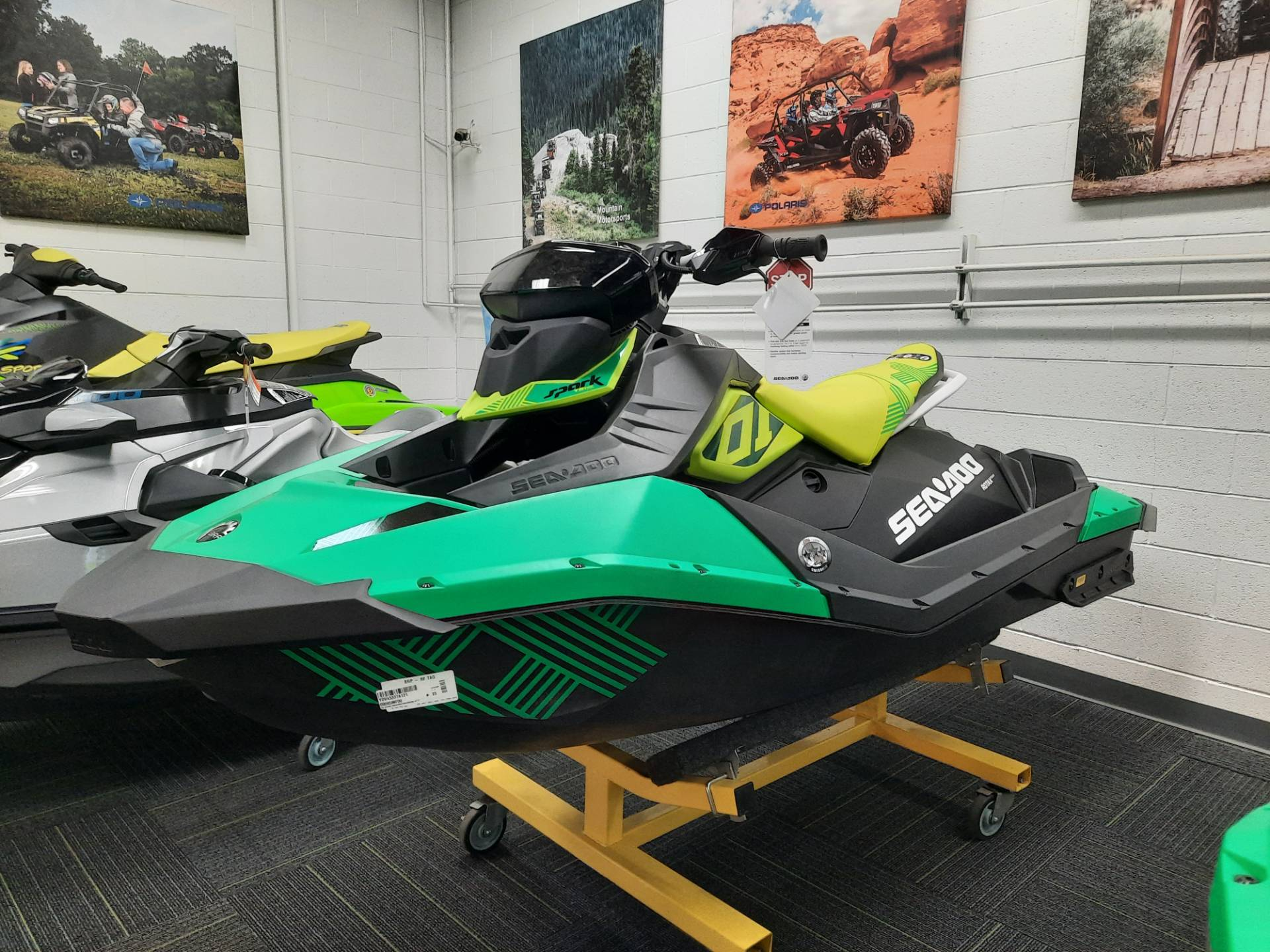 2021 Sea-Doo Spark Trixx 2up iBR + Sound System in Ontario, California - Photo 2