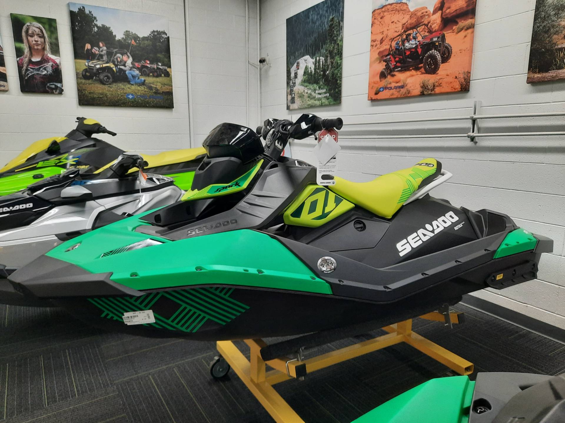 2021 Sea-Doo Spark Trixx 2up iBR + Sound System in Ontario, California - Photo 3