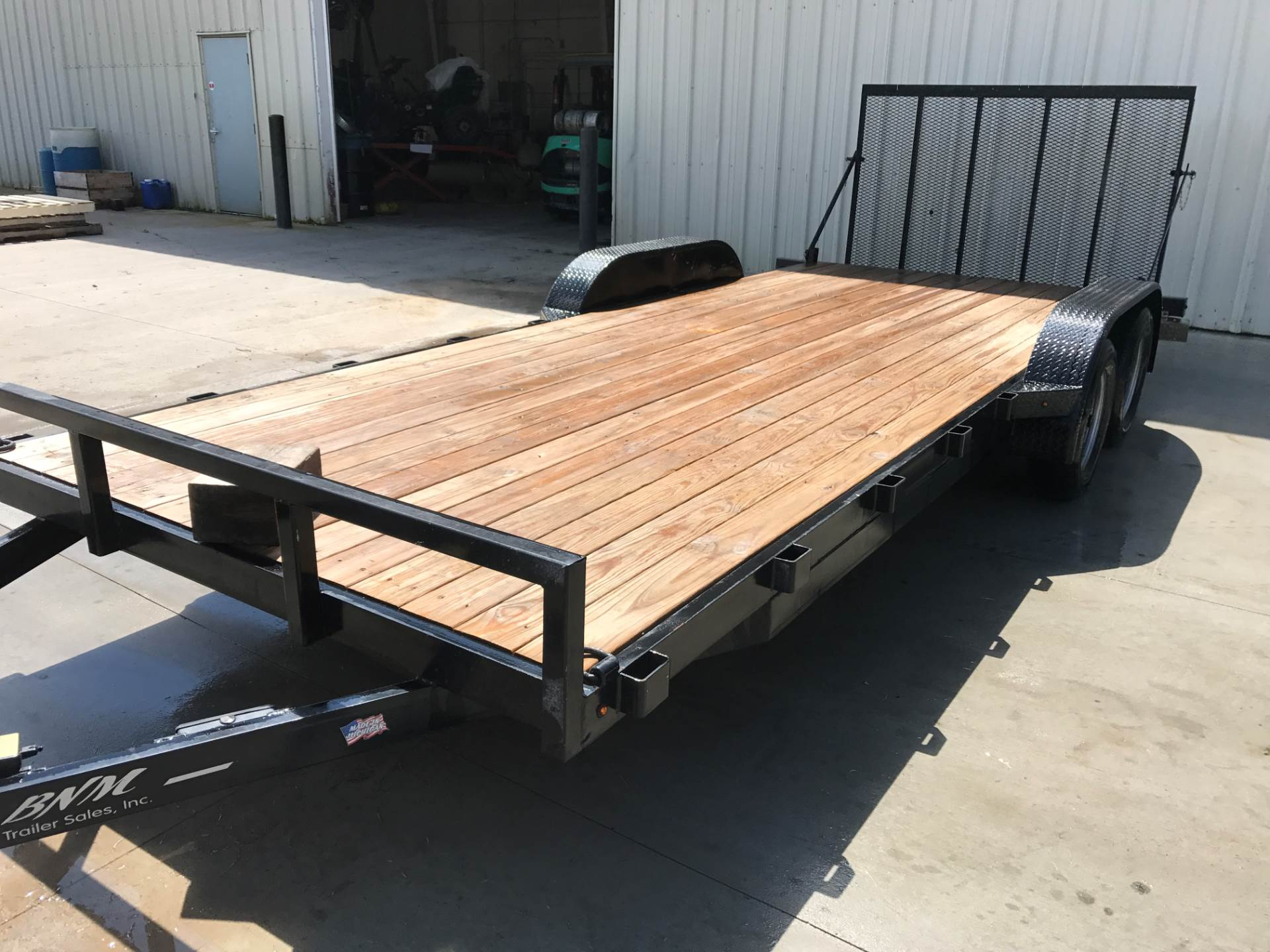 2016 BNM TRAILER SALES BNM8220FBTA7/D in Hillman, Michigan