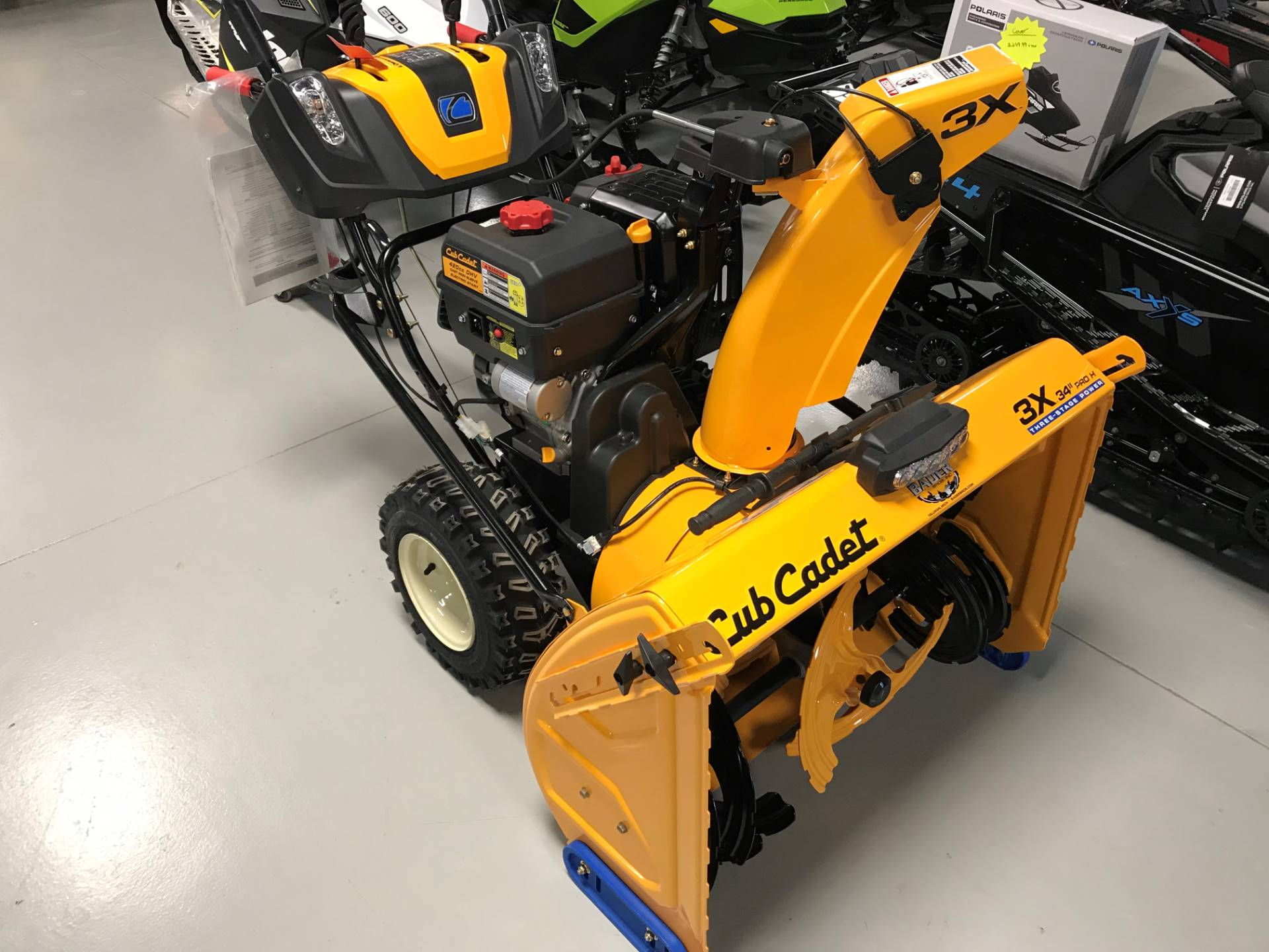 Cub Cadet 3X 34 in. PRO H in Hillman, Michigan - Photo 1