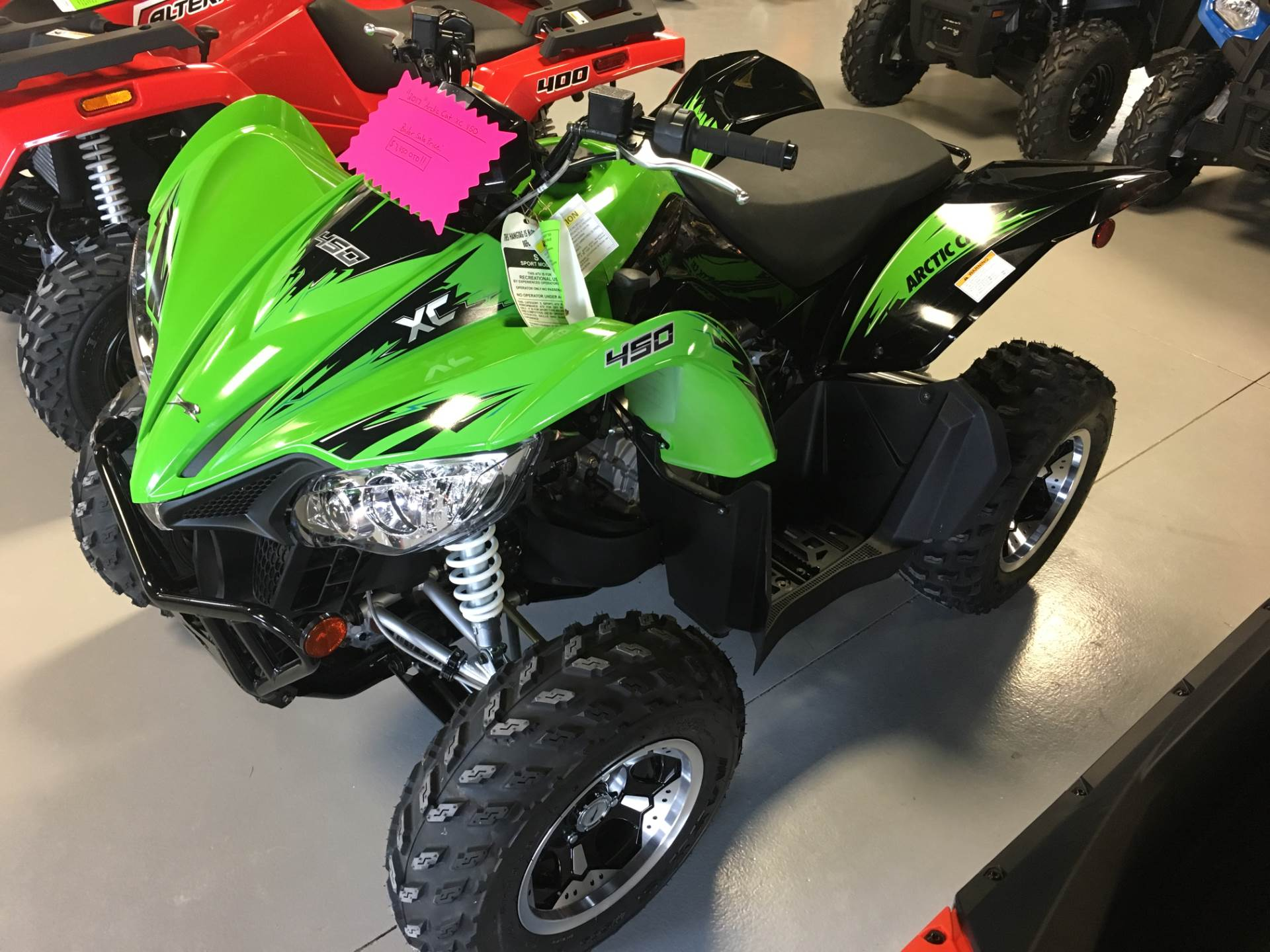 2017 Arctic Cat XC 450 in Hillman, Michigan