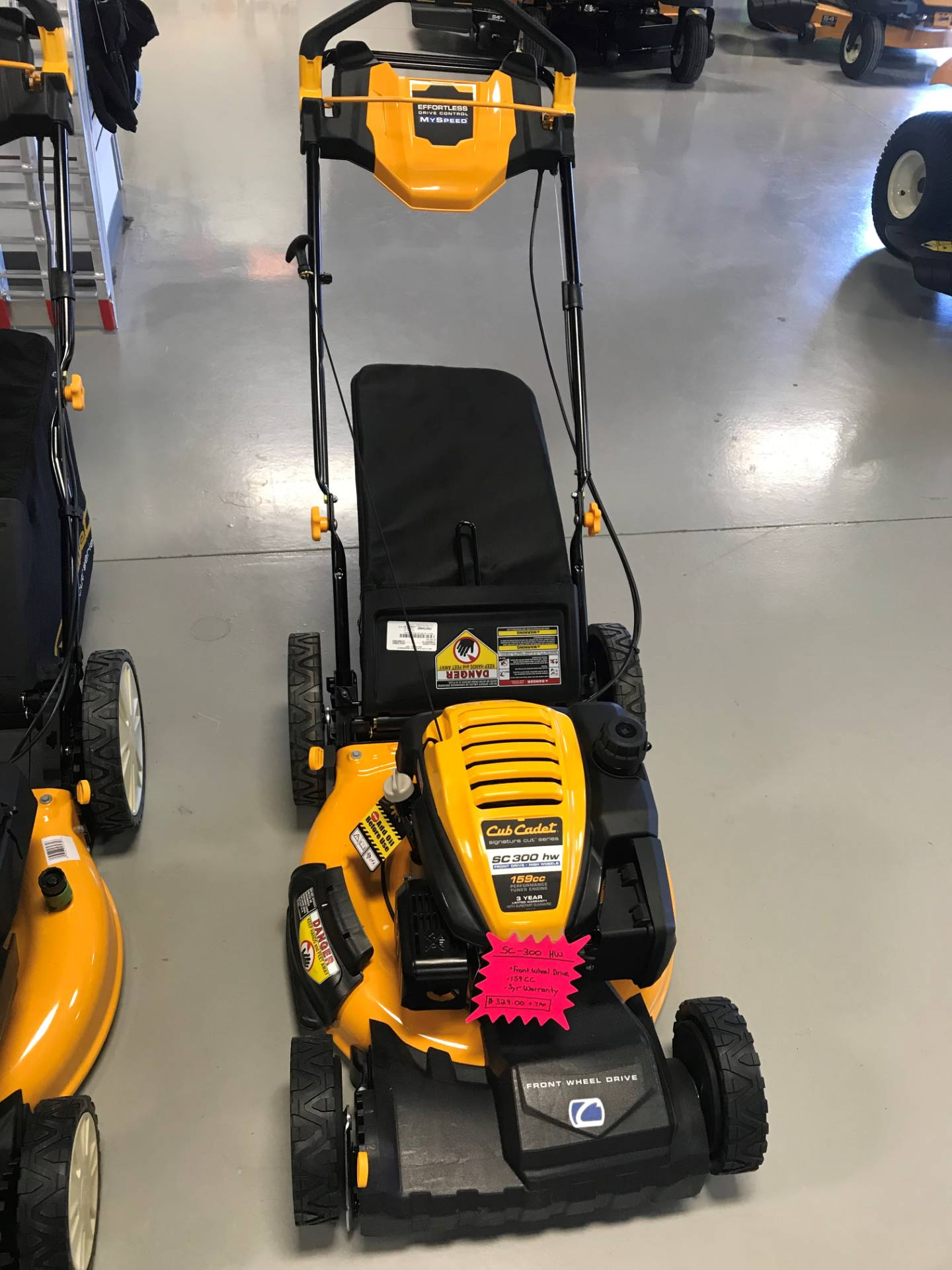 Cub Cadet SC 300 HW 21 in. Cub Cadet OHV 159 cc in Hillman, Michigan - Photo 1